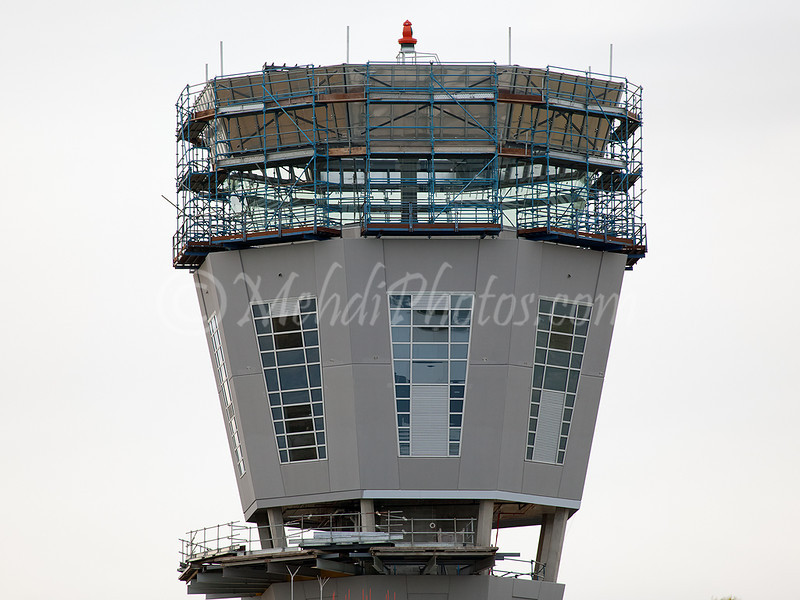 New Melbourne control tower under construction. January 2012.