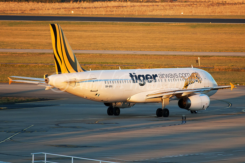 Tiger is now back to sky, VH-VNH.