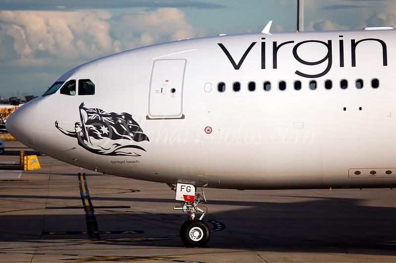 VH-XFG the latest addition to VA fleet.