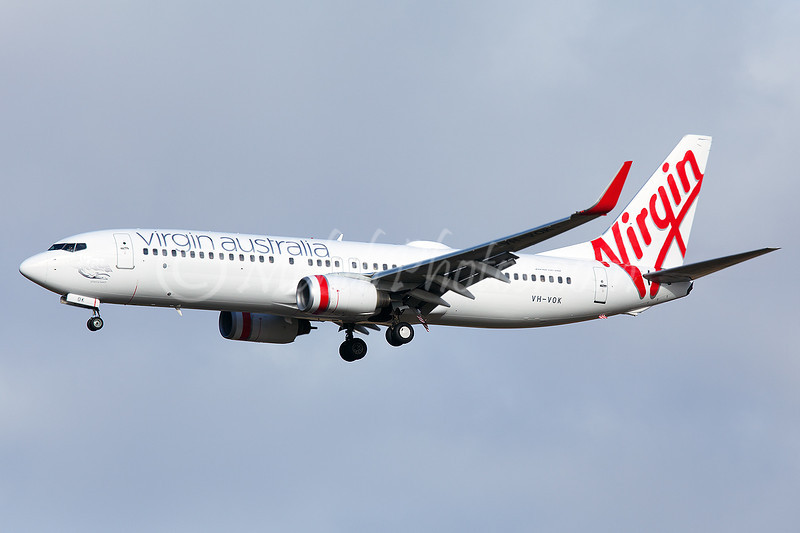 VH-VOK now in Virgin Australia livery