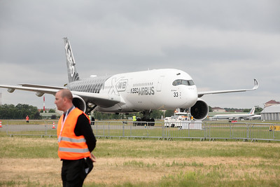 A350 at the Paris Airshow
