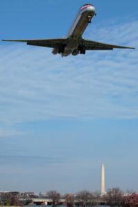 Final approach DCA
