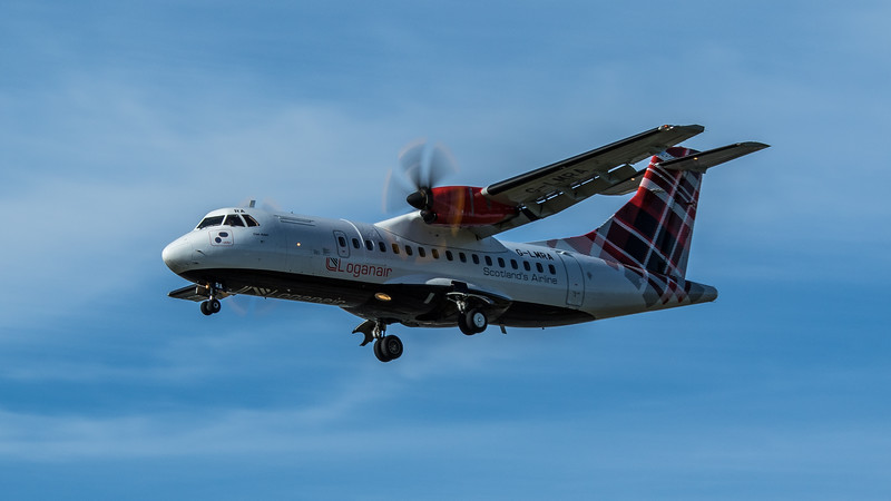 Loganair - ATR 42-500 (G-LMRA) - Heathrow Airport (June 2020)