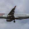 Swiss - Airbus A220-300 (HB-JCO) - Heathrow Airport (March 2019)