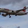 Swiss - Airbus A220-300 (HB-JCI) - Heathrow Airport (August 2020)