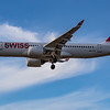 Swiss - Airbus A220-300 (HB-JCF) - Heathrow Airport (August 2020)