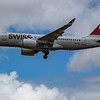 Swiss - Airbus A220-100 (HB-JBI) - Heathrow Airport (June 2020)