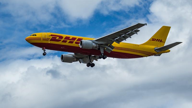 DHL - Airbus A300B4-622R(F) (D-AEAC) - Heathrow Airport (June 2020)
