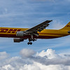 DHL - Airbus A300B4-622R(F) (D-AEAH) - Heathrow Airport (August 2020)