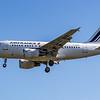 Air France - Airbus A318-111 (F-GUGF) - Heathrow Airport (June 2021)