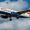 British Airways - Airbus A319-131 (G-EUPC) - Heathrow Airport (March 2020)