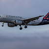 Brussels Airways - Airbus A319-112 (OO-SSH) - Edinburgh Airport (January 2020)