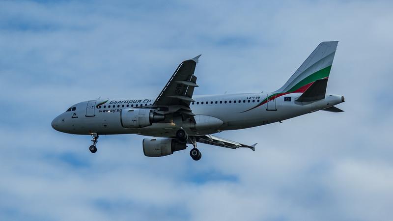 Bulgaria Air - Airbus A319-112 (LZ-FBB) - Heathrow Airport (June 2020)