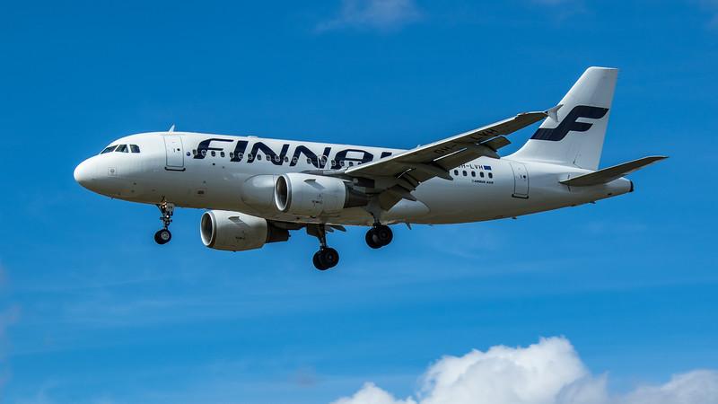 Finnair - Airbus A319-112 (OH-LVH) - Heathrow Airport (June 2020)