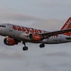 easyJet - Airbus A319-111 (G-EZAT) - Edinburgh Airport (January 2020)