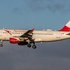 Austrian Airways - Airbus A319-112 (OE-LDA) - Edinburgh Airport (February 2020)