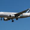 Air France - Airbus A319-111 (F-GRXL) - Heathrow Airport (June 2021)