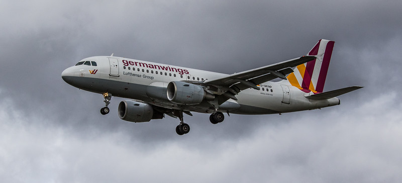 Eurowings - Airbus A319-112 (D-AKNP) - Heathrow Airport (March 2019)