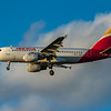 Iberia - Airbus A319-111 (EC-KOY) - Heathrow Airport (March 2020)