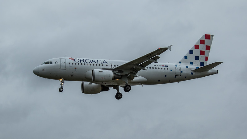 Croatia Airlines - Airbus A319-112 (9A-CTG) - Heathrow Airport (March 2020)