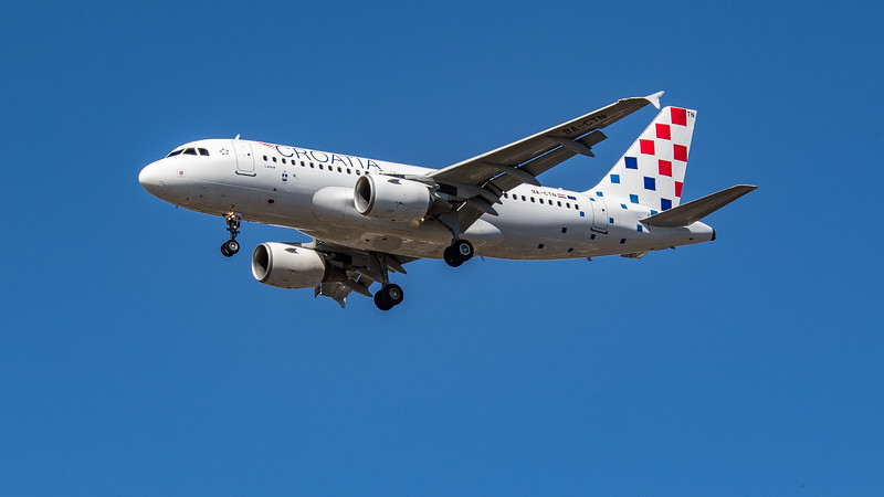 Croatia Airlines - Airbus A319-112 (9A-CTN) - Heathrow Airport (July 2020)