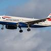 British Airways - Airbus A319-131 (G-EUPN) - Edinburgh Airport (February 2020)