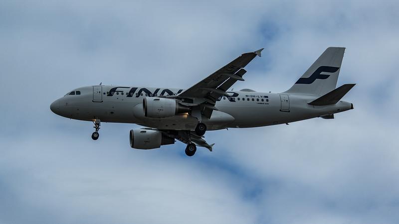 Finnair - Airbus A319-112 (OH-LVI) - Heathrow Airport (June 2020)