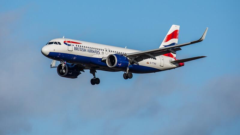 British Airways - Airbus A320-251N (G-TTNC) - Edinburgh Airport (February 2020)