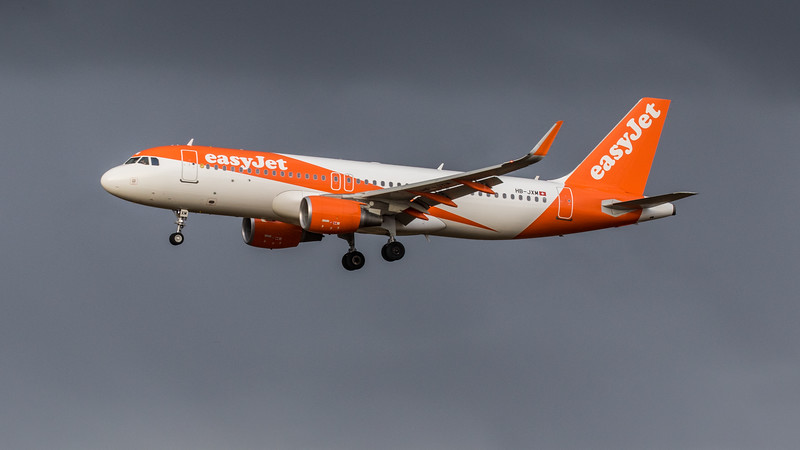 easyJet - Airbus A320-214 (HB-JXM) - Edinburgh Airport (January 2020)