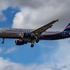 Aeroflot - Airbus A320-214 (VQ-BIV) - Heathrow Airport (June 2020)