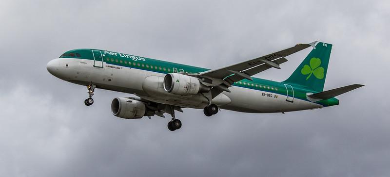 Aer Lingus - Airbus A320-214 (EI-DEG) - Heathrow Airport (March 2019)