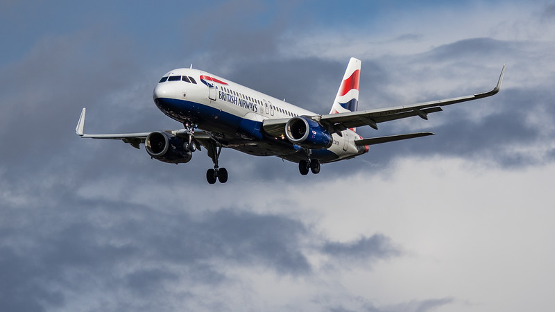 British Airways - Airbus A320-232 (G-EUYR) - Heathrow Airport (March 2019)