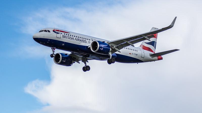 British Airways - Airbus A320-251N (G-TTNF) - Heathrow Airport (March 2019)