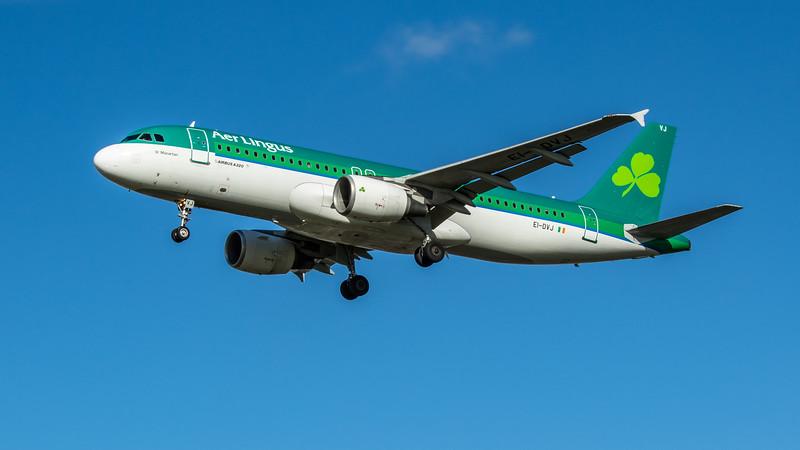Aer Lingus - Airbus A320-214 (EI-DVJ) - Heathrow Airport (February 2020)