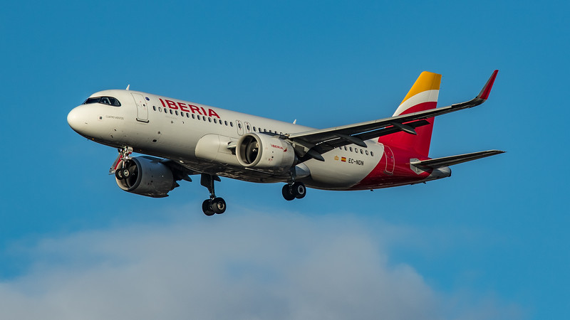 Iberia - Airbus A320-251N (EC-NDN) - Heathrow Airport (March 2020)