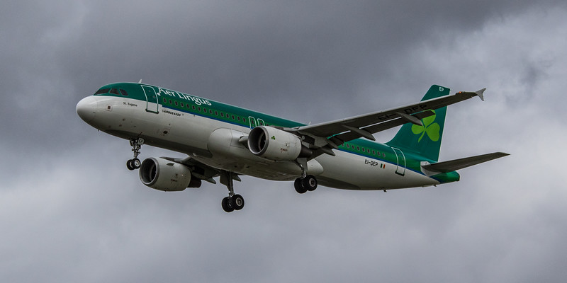 Aer Lingus - Airbus A320-214 (EI-DEP) - Heathrow Airport (March 2019)