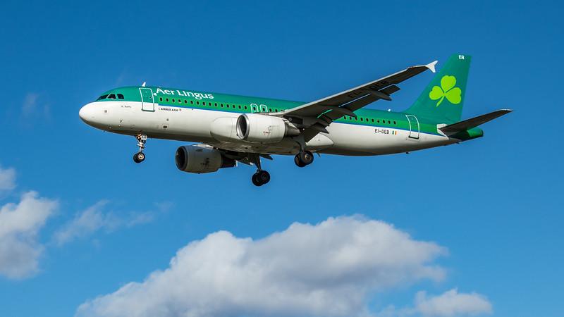 Aer Lingus - Airbus A320-214 (EI-DEB) - Heathrow Airport (March 2020)