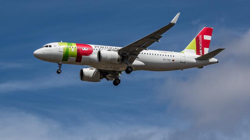 TAP Air Portugal - Airbus A320-251N (CS-TVC) - Heathrow Airport (July 2020)