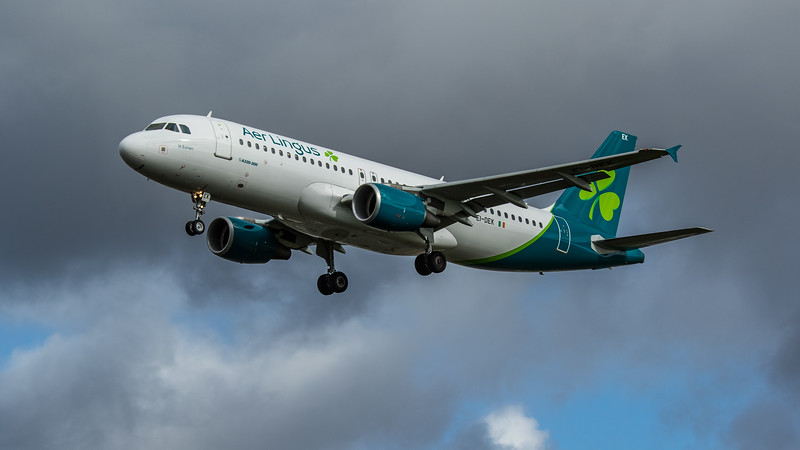 Aer Lingus - Airbus A320-214 (EI-DEK) - Heathrow Airport (February 2020)