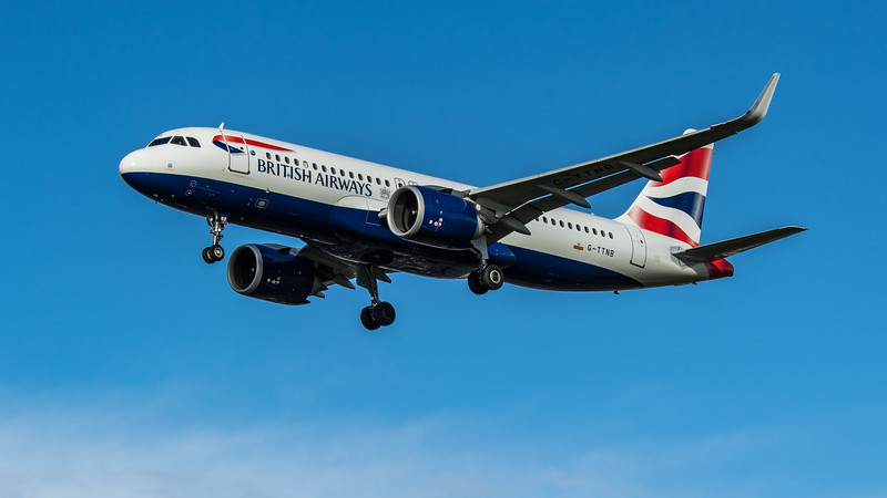 British Airways - Airbus A320-251N (G-TTNB) - Heathrow Airport (February 2020)
