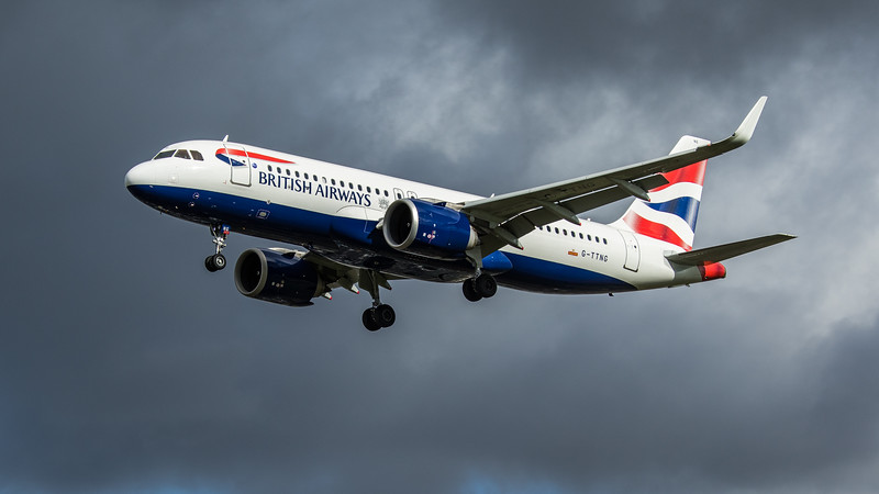 British Airways - Airbus A320-251N (G-TTNG) - Heathrow Airport (February 2020)