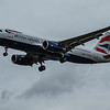 British Airways - Airbus A320-232 (G-EUYX) - Heathrow Airport (March 2020)