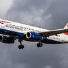 British Airways - Airbus A320-232 (G-EUYW) - Heathrow Airport (March 2019)