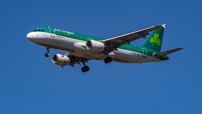 Aer Lingus - Airbus A320-214 (EI-DVG) - Heathrow Airport (July 2020)
