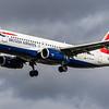 British Airways - Airbus A320-232 (G-EUYP) - Heathrow Airport (March 2019)