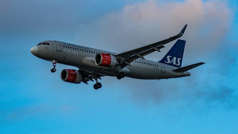 SAS - Airbus A320-251N (EI-SIF) - Heathrow Airport (March 2020)