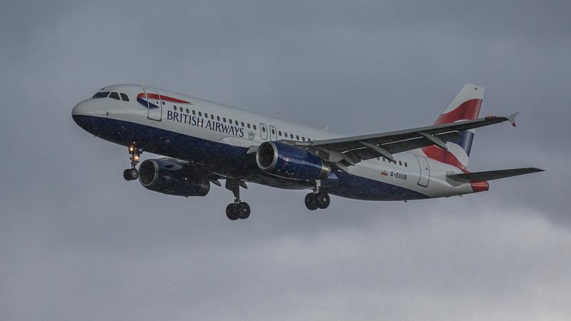 British Airways - Airbus A320-232 (G-EUUB) - Heathrow Airport (March 2019)