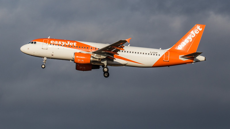 easyJet - Airbus A320-214 (G-EZUP) - Edinburgh Airport (February 2020)