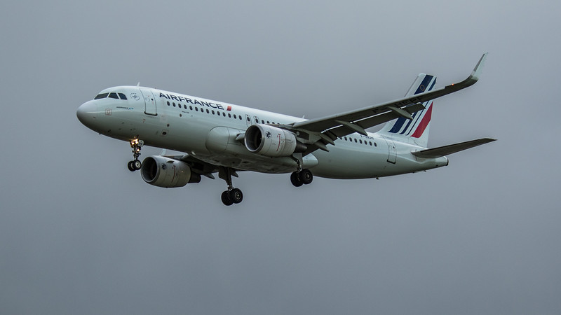 Air France - Airbus A320-214 (F-HEPF) - Heathrow Airport (February 2020)