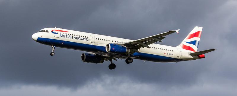 British Airways - Airbus A321-231 (G-MEDN) - Heathrow Airport (March 2019)